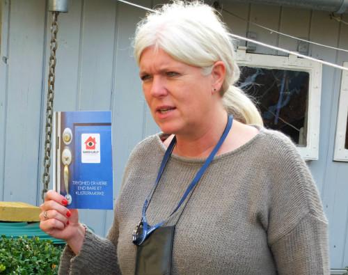 """Hvis man vil sætte naboskabet i system kan man tilmelde sig mobilappen """"nabohjælp.dk"""""""